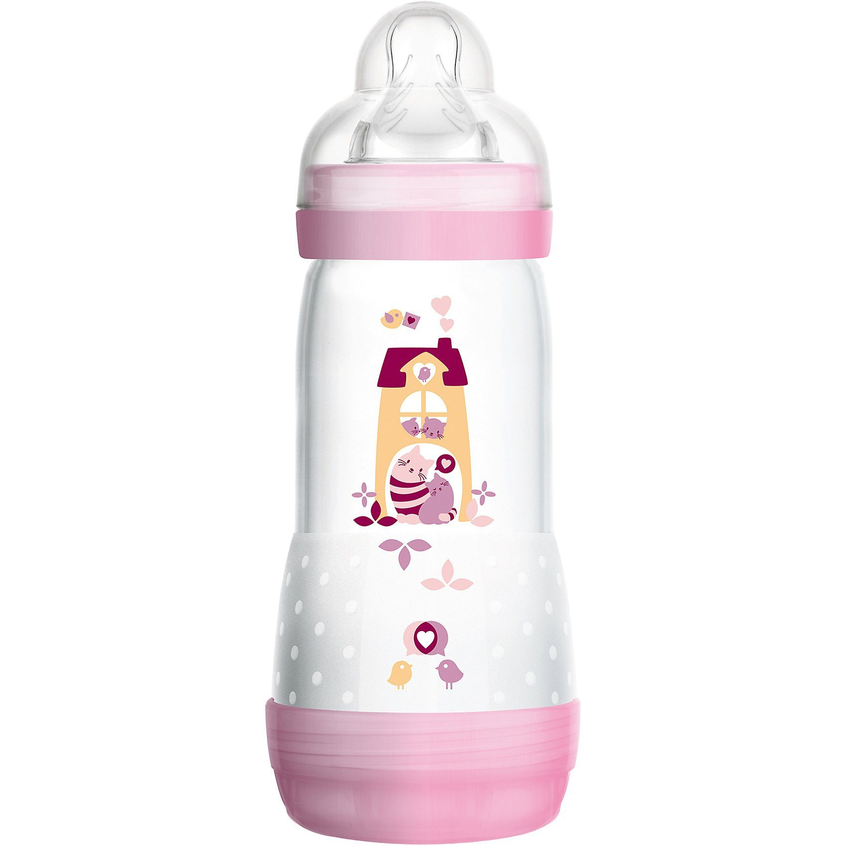 MAM Weithals Flasche Easy Start, Anti-Colic, PP, 320 ml, Silikon