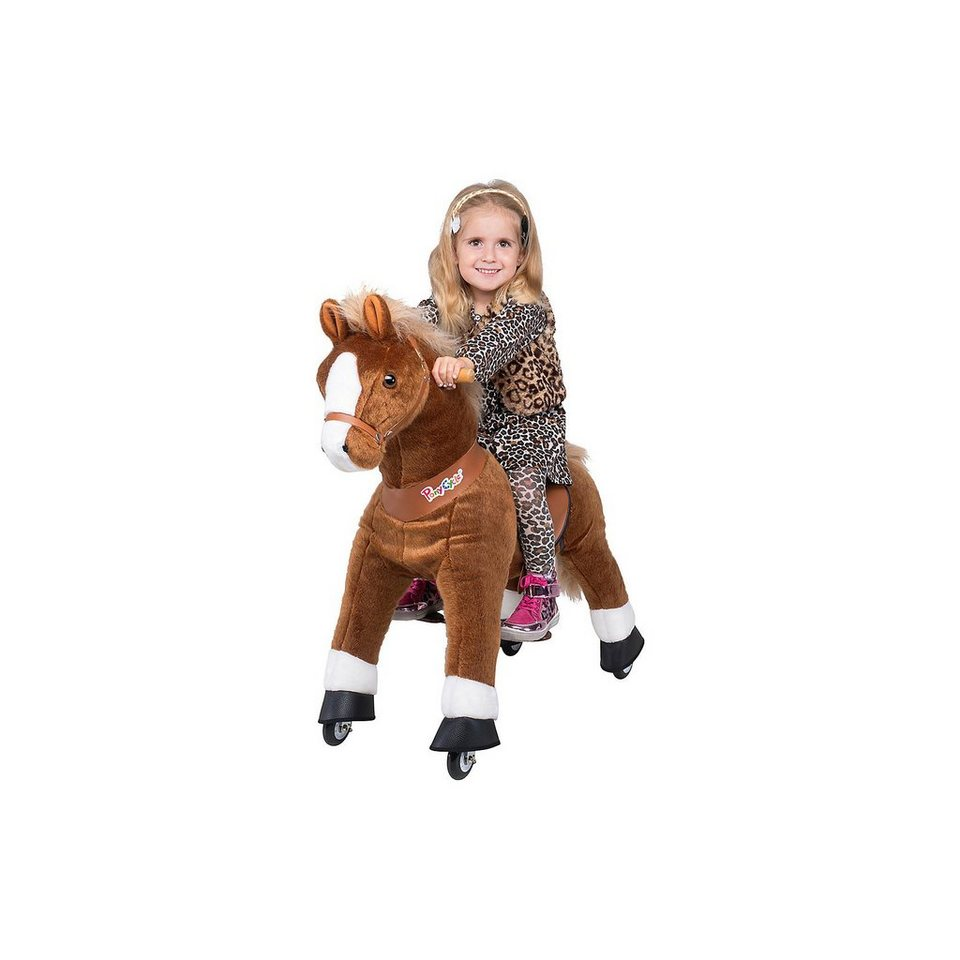 Pony Cycle Ponycycle Pferd ''Amadeus'' hell braun mittel, 90cm