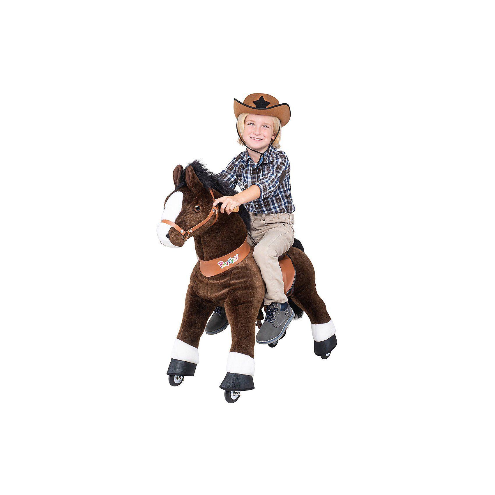 Pony Cycle Ponycycle Pferd ''Mister ED'' braun, mittel, 90cm