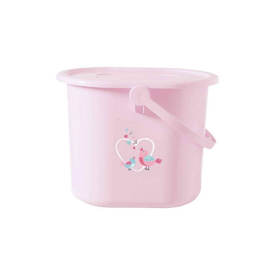 bébé-jou Windeleimer Sweet Birds, rosa in rosa