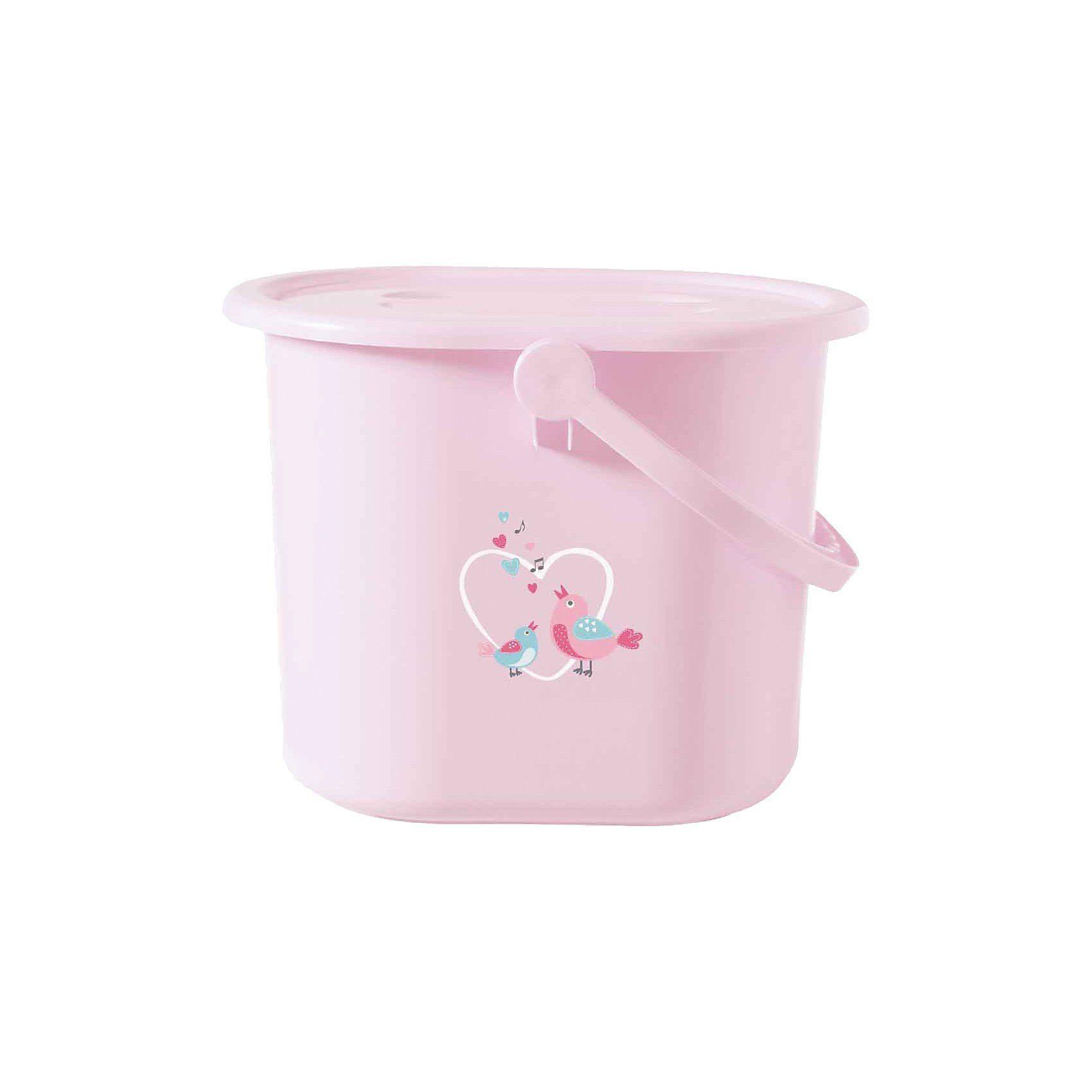 bébé-jou Windeleimer Sweet Birds, rosa