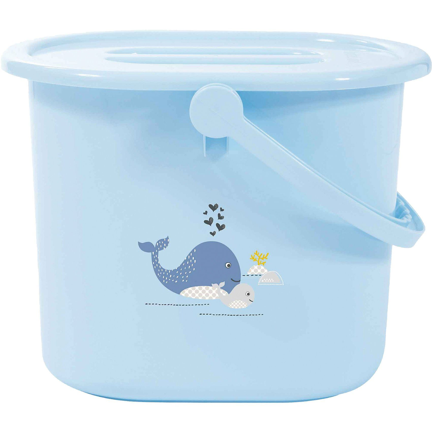 bébé-jou Windeleimer Wally Whale, blau