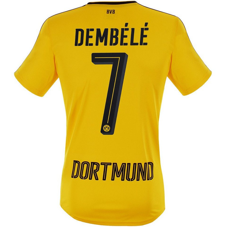 Puma BVB Dembele Trikot »Home 2017« in gelb