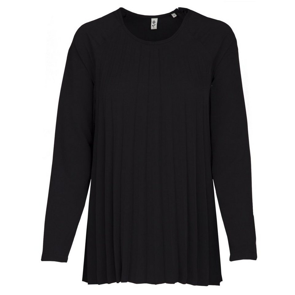 Seidensticker Klassische Bluse »Schwarze Rose« in schwarz