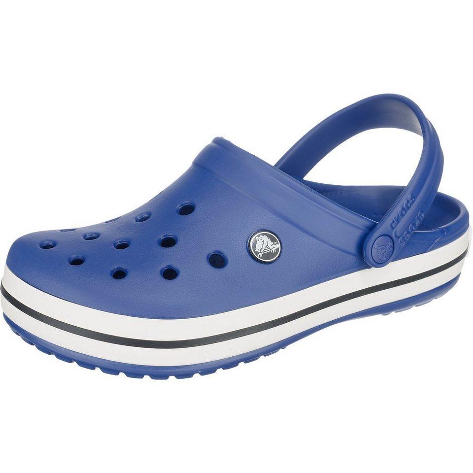 CROCS Crocband Pantoletten in blau-kombi