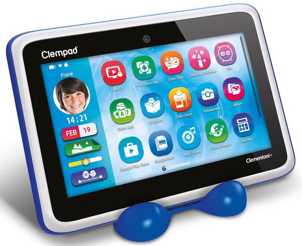Clementoni Kindertablet mit Silikonhülle, »Clempad 6.0 S (8 GB 7-Zoll)«