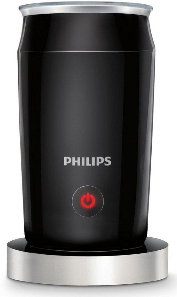 Philips Milchaufschäumer CA6502/65, schwarz in schwarz