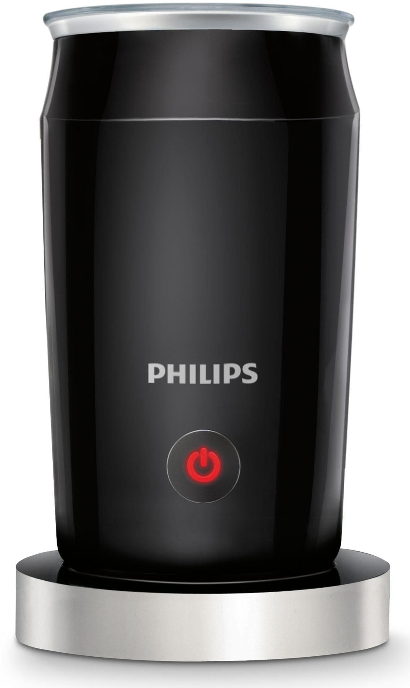 Philips Milchaufschäumer CA6502/65, schwarz