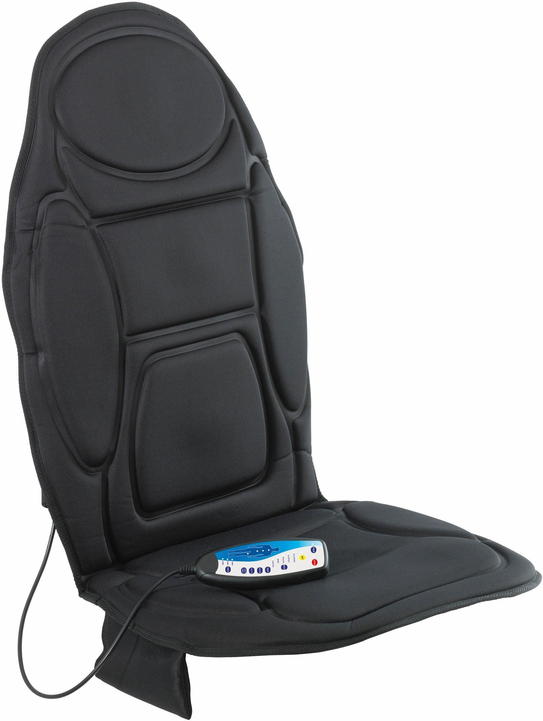 Vitalmaxx Massagematte 5-Zonen Sessel oder Stuhl 12V, mit Wärmefunktion + Autoadapter