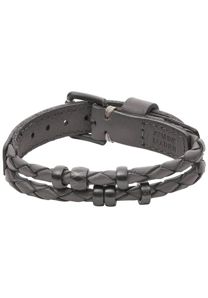 Fossil Armband »JF02476793, VINTAGE CASUAL« in grau
