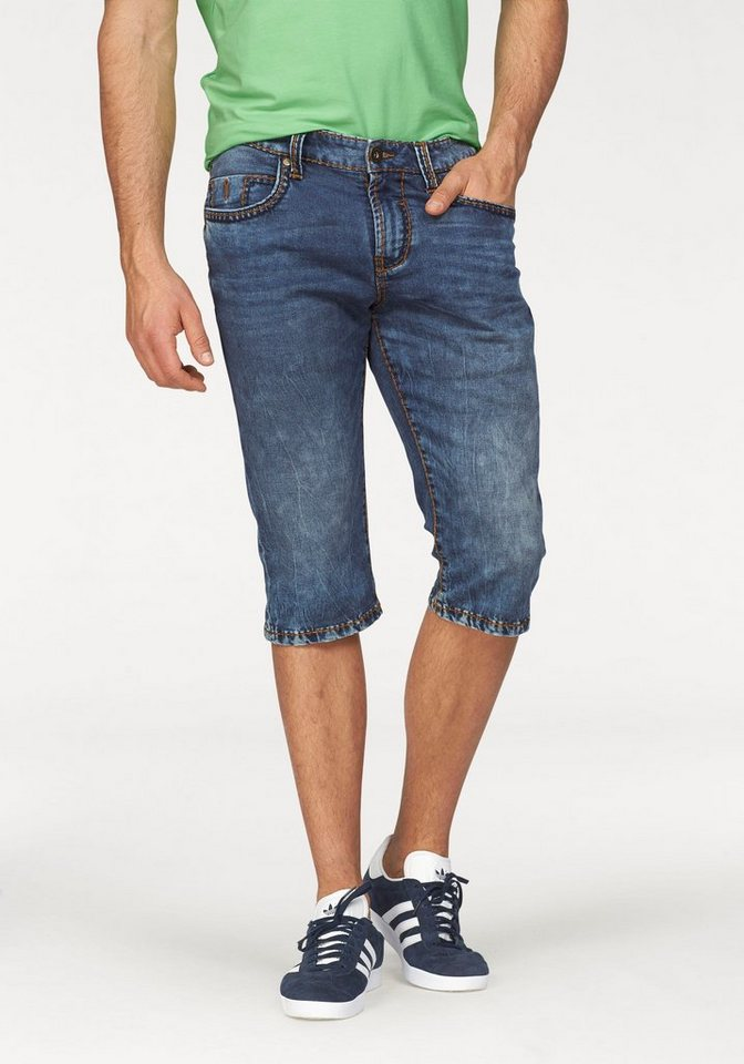 CAMP DAVID Shorts in medium-stone