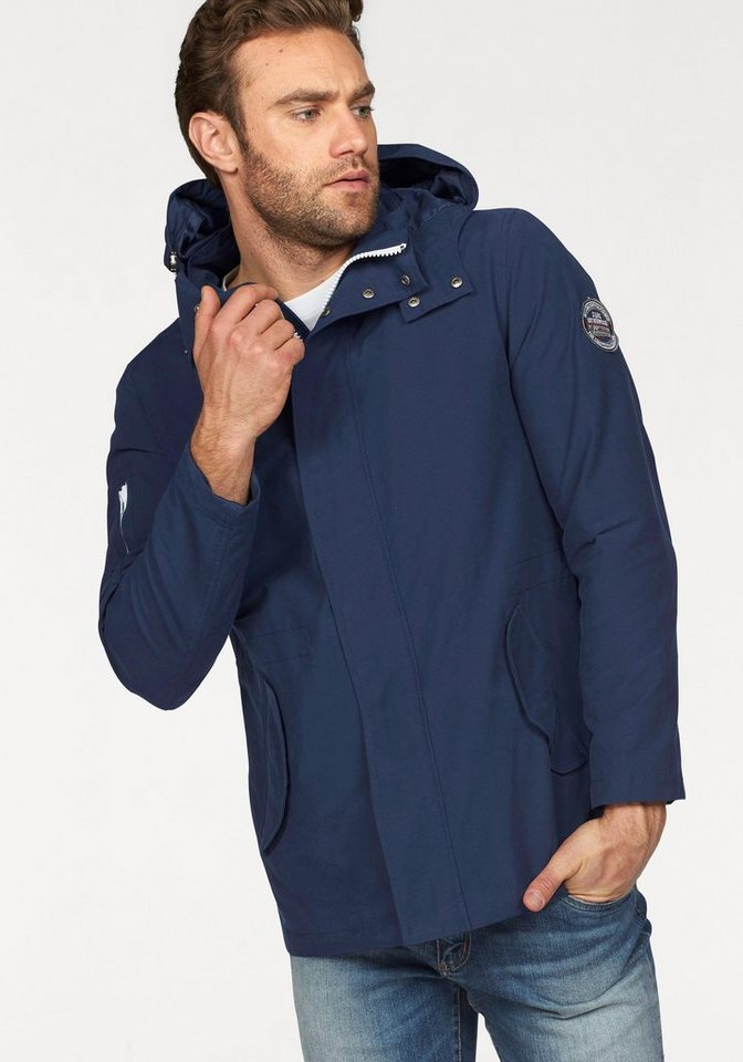 Rhode Island Outdoorjacke in blau