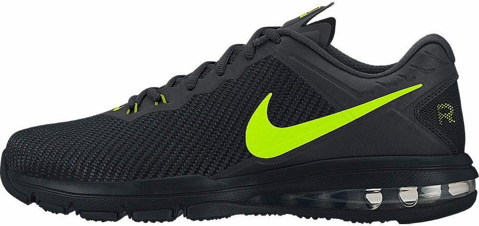 Nike »Air Max Full Ride M« Trainingsschuh in schwarz-neongelb