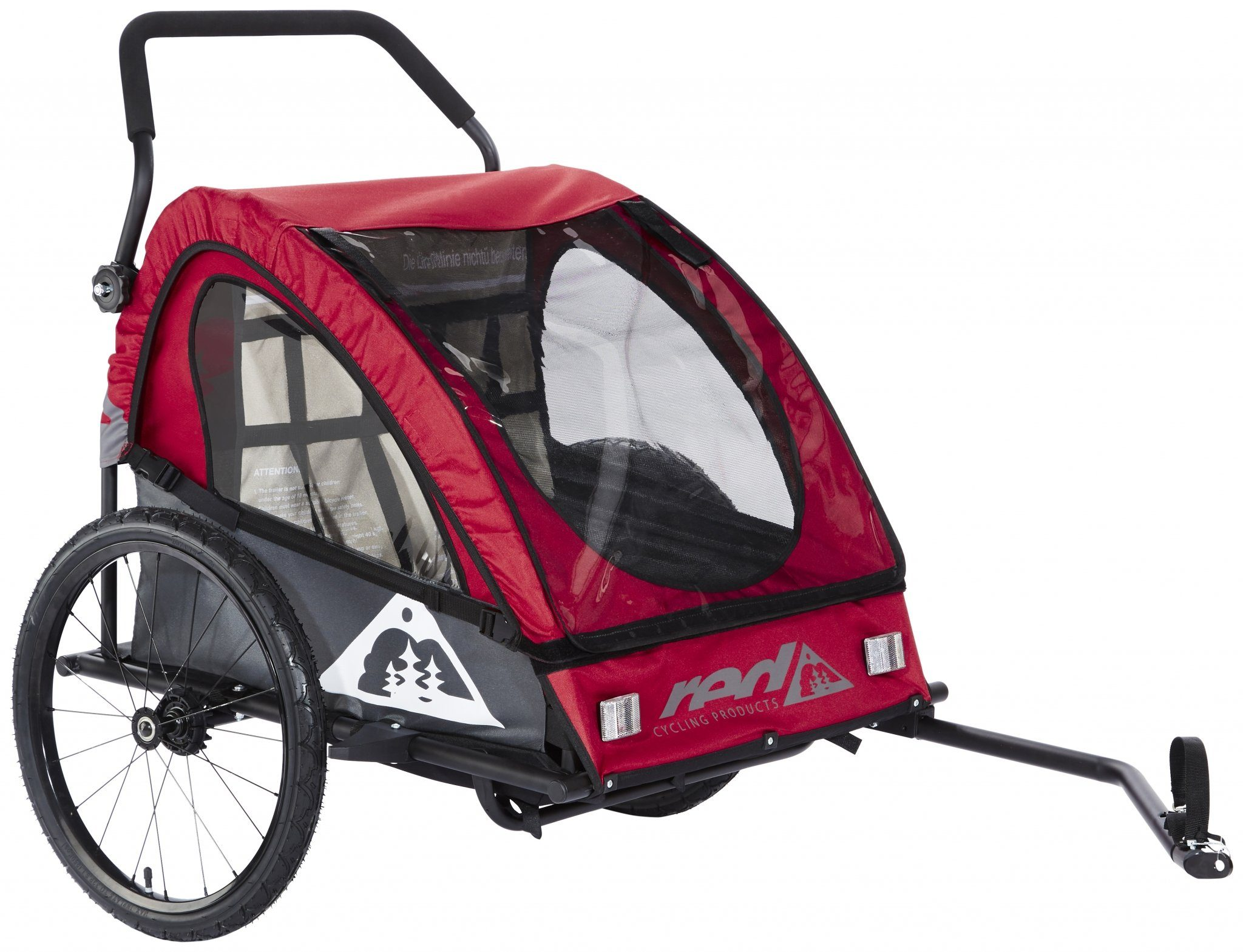 Red Cycling Products Kinderanhänger »PRO Kids BikeTrailer Kinderanhänger«