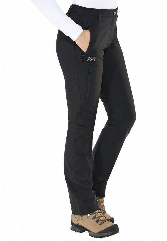 Millet Softshellhose »LD Outdoor Pant Women« in schwarz