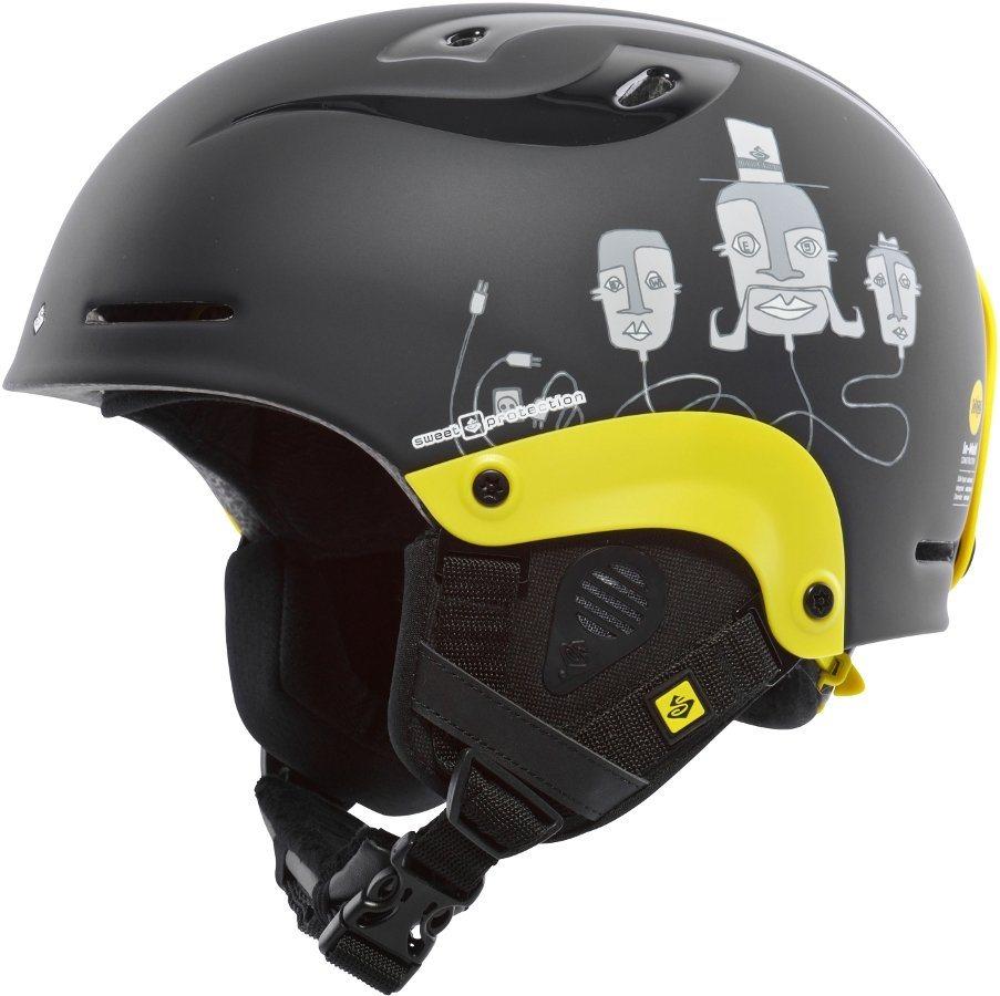 Sweet Protection Ski - / Snowboardhelm »Blaster MIPS Ski Helmet Kids« in schwarz