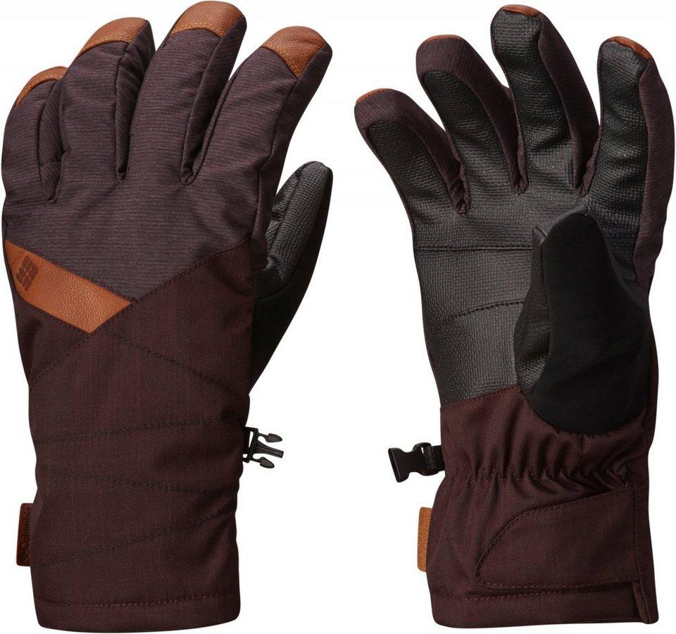 Columbia Handschuhe »St. Anthony Gloves Men New Cinder Crossdye, New« in braun