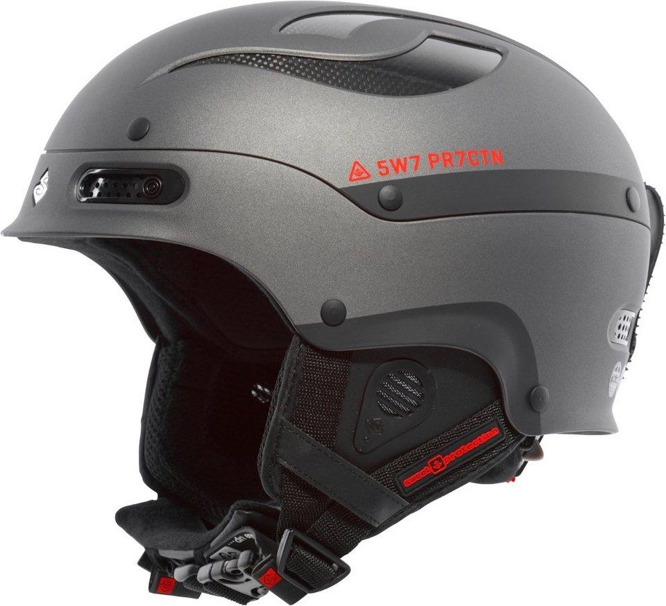 Sweet Protection Ski - / Snowboardhelm »Trooper Ski Helmet« in grau