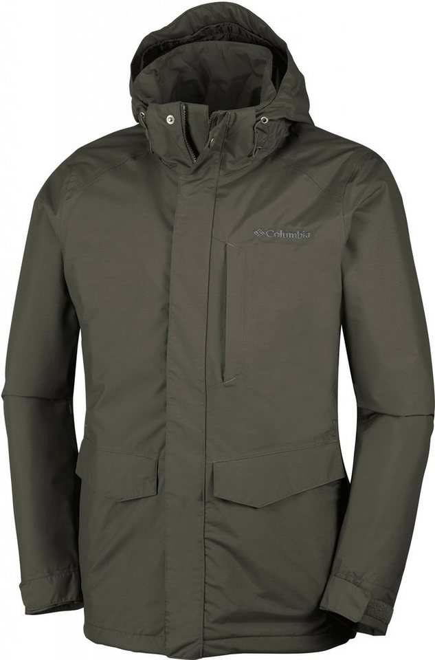 Columbia Outdoorjacke »Burney Interchange Jacket Men« in braun
