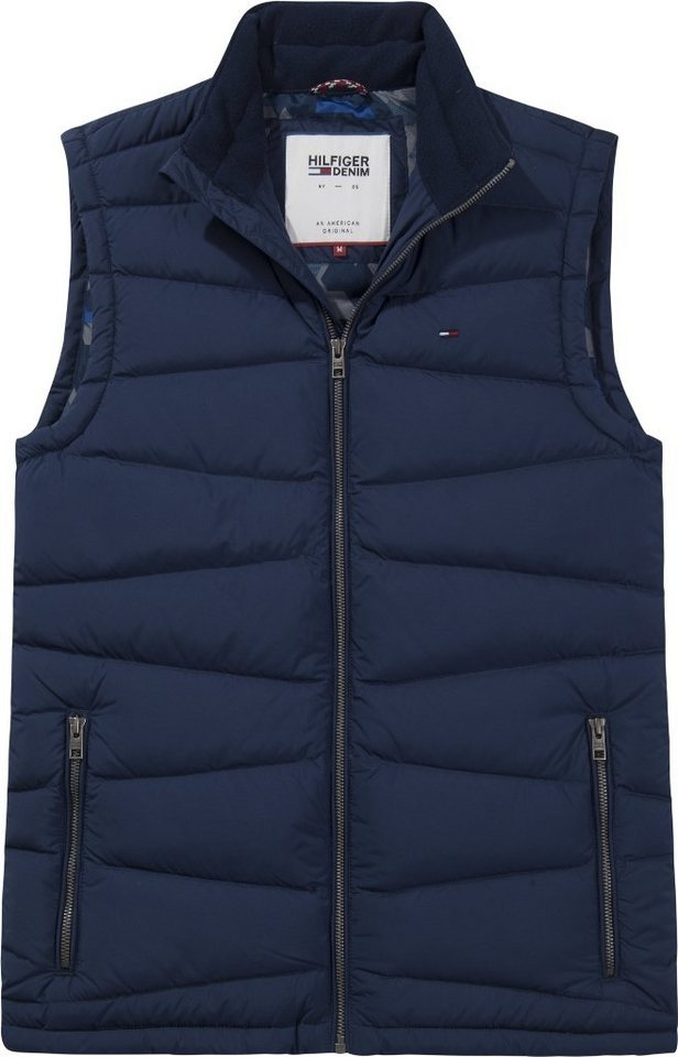 Hilfiger Denim Weste »THDM BASIC LIGHT DOWN VEST 16« in BLACK IRIS