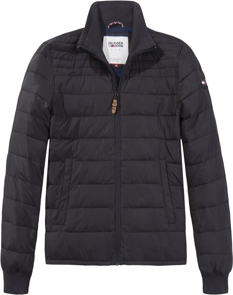 Hilfiger Denim Outdoorjacke »THDM QUILTED JACKET 27« in TOMMY BLACK