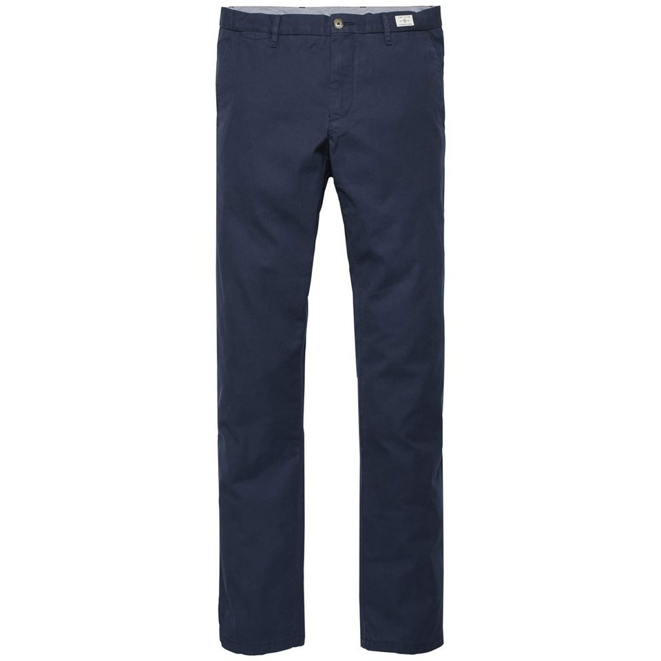 Tommy Hilfiger Hose lang »MERCER CHINO ORG HARVARD TWILL« in MIDNIGHT