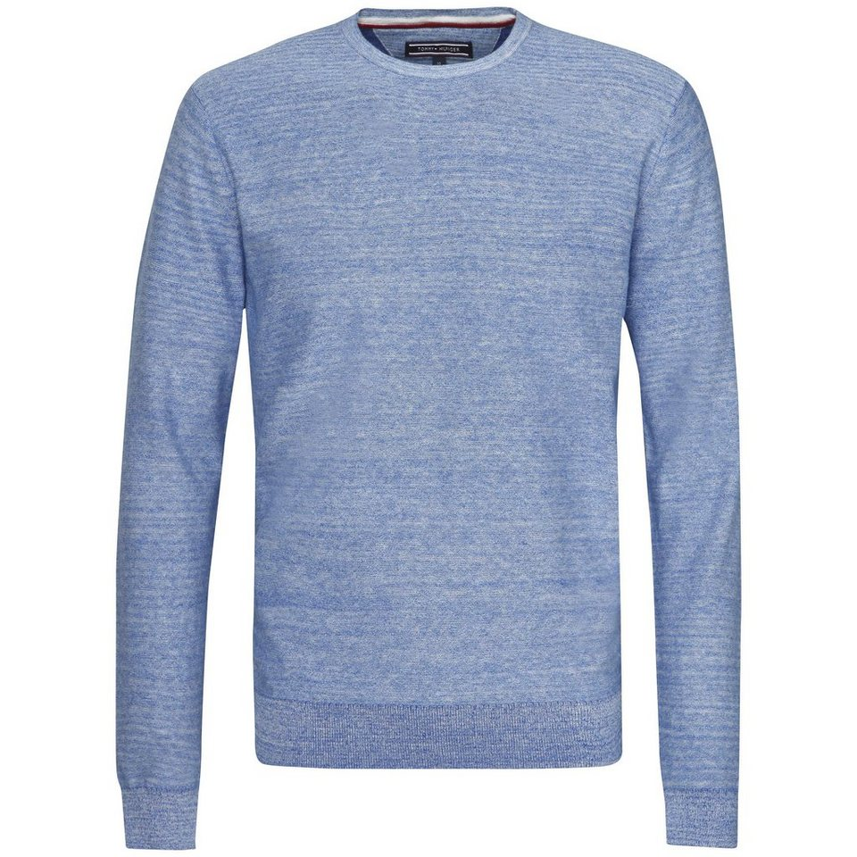 Tommy Hilfiger Pullover »EXAGGERATED PLAITED HTR C-NK CF« in SURF THE WEB