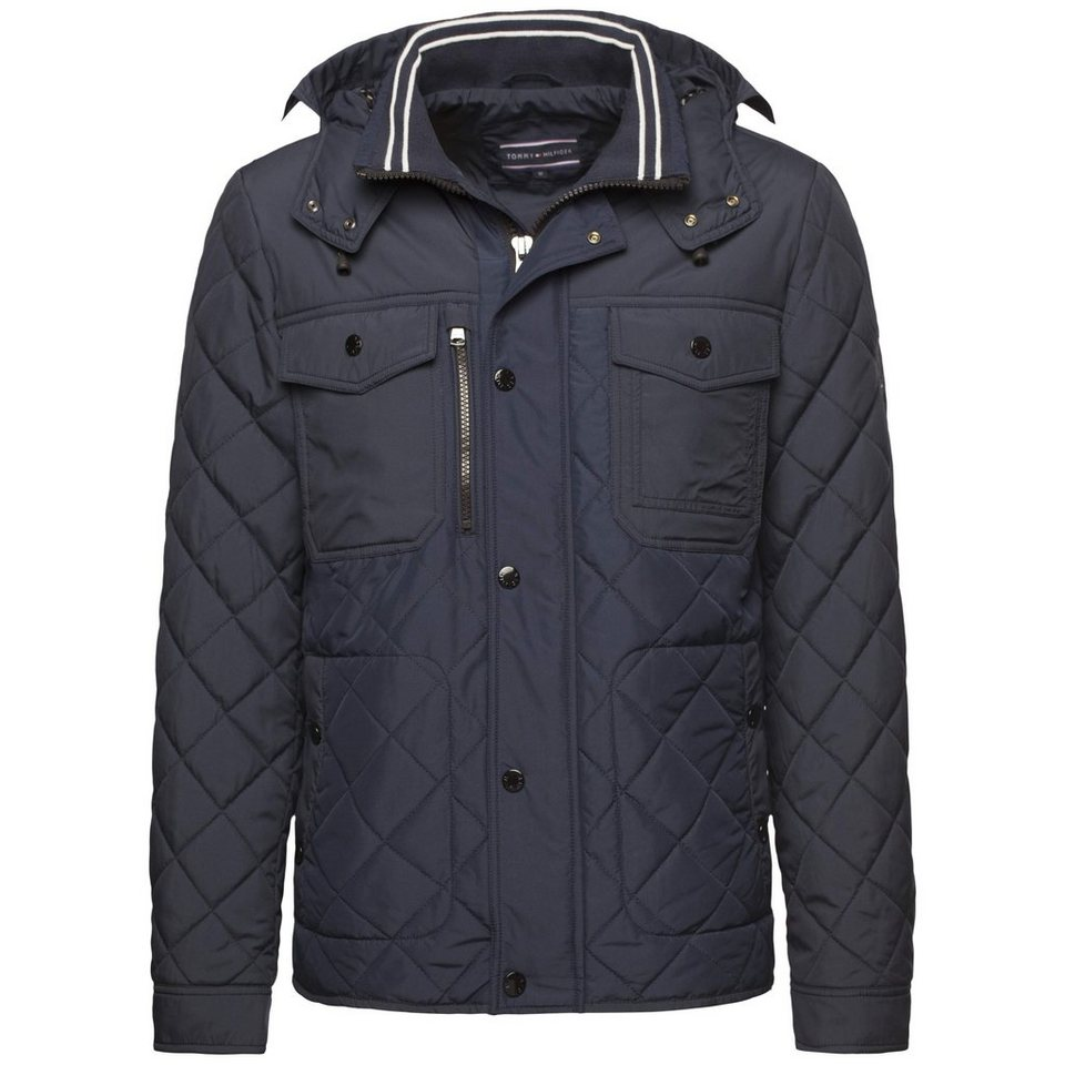 Tommy Hilfiger Outdoorjacke »HDD QUILTED JKT« in NAVY BLAZER