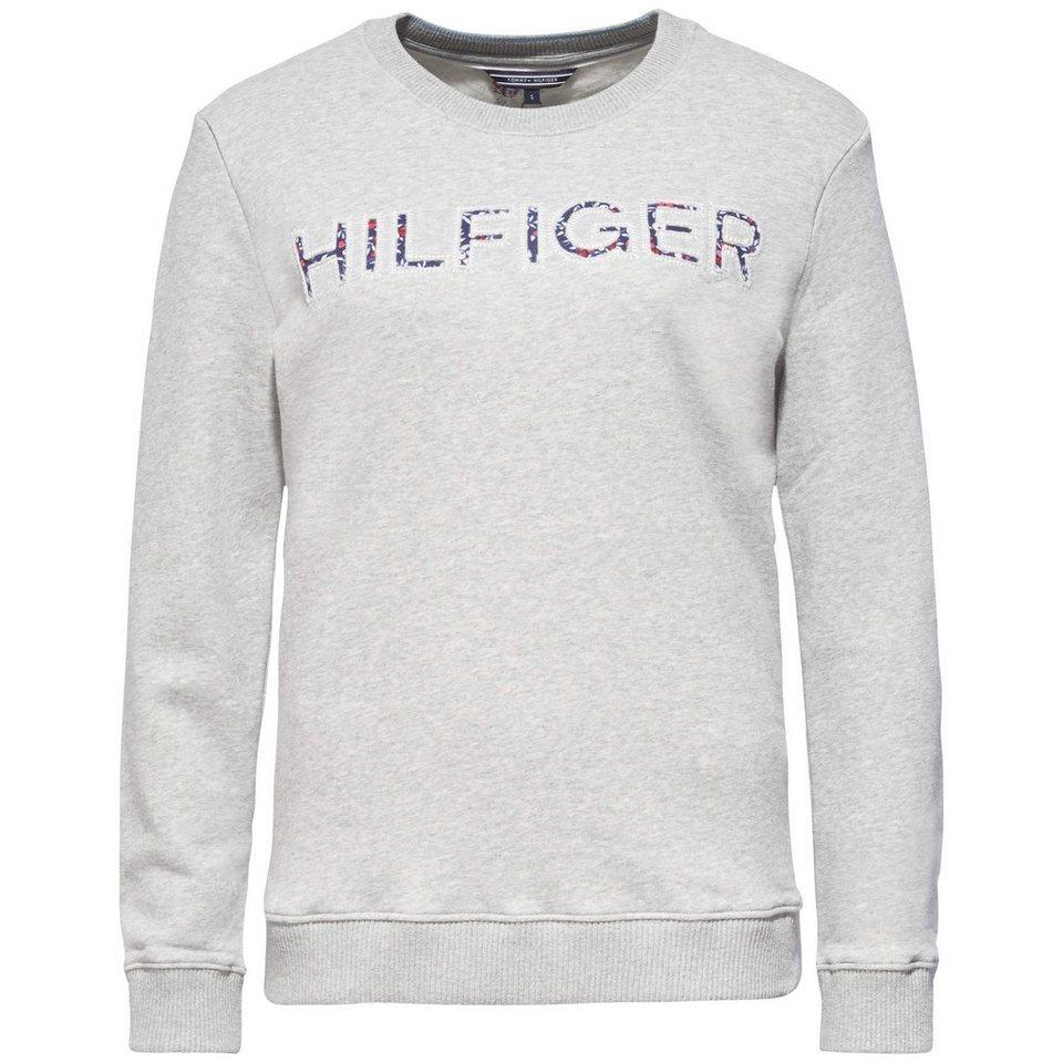 Tommy Hilfiger Sweatshirt »SIMBA SWEATSHIRT LS« in LIGHT GREY