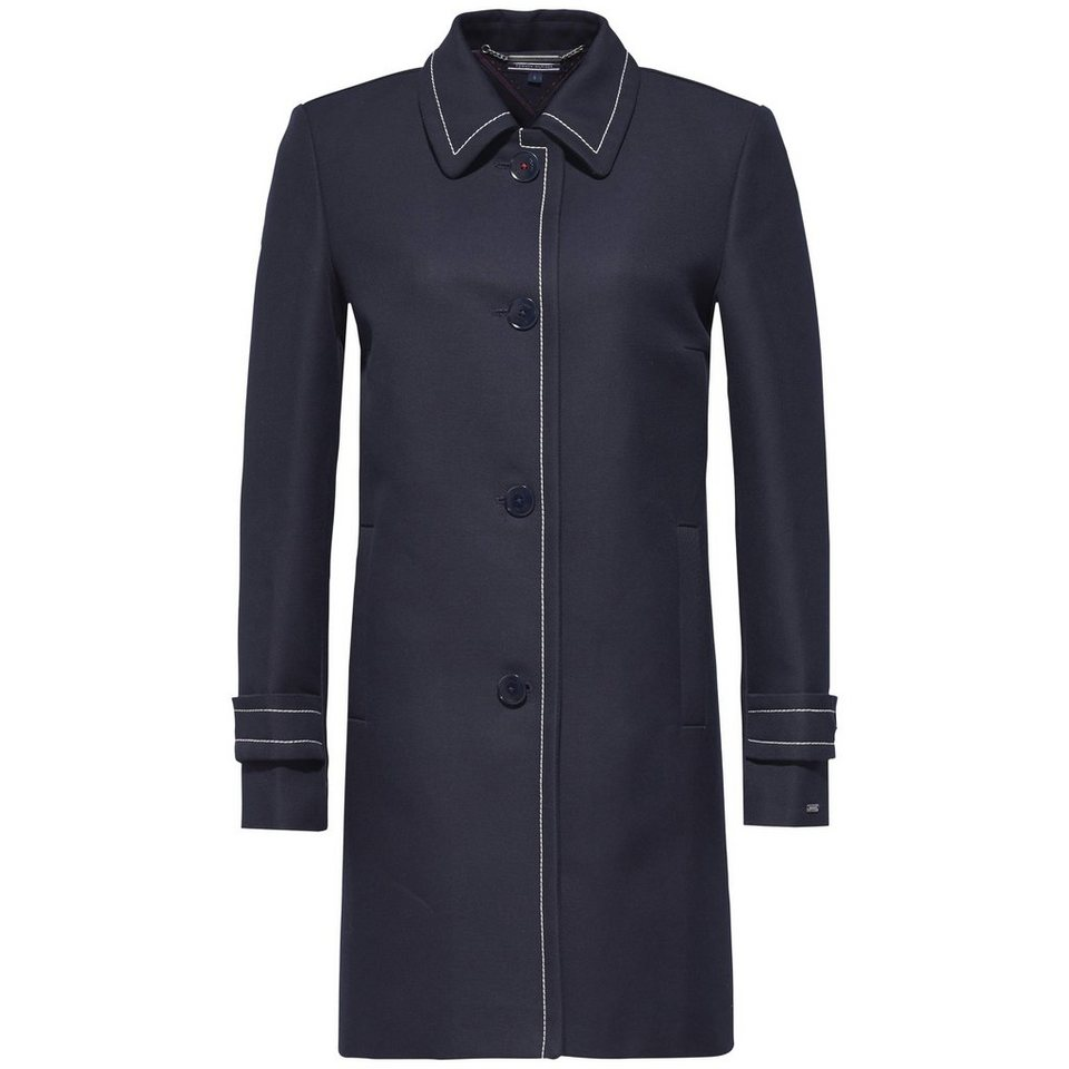 Tommy Hilfiger Mantel »BERBER A-LINE COAT« in MIDNIGHT
