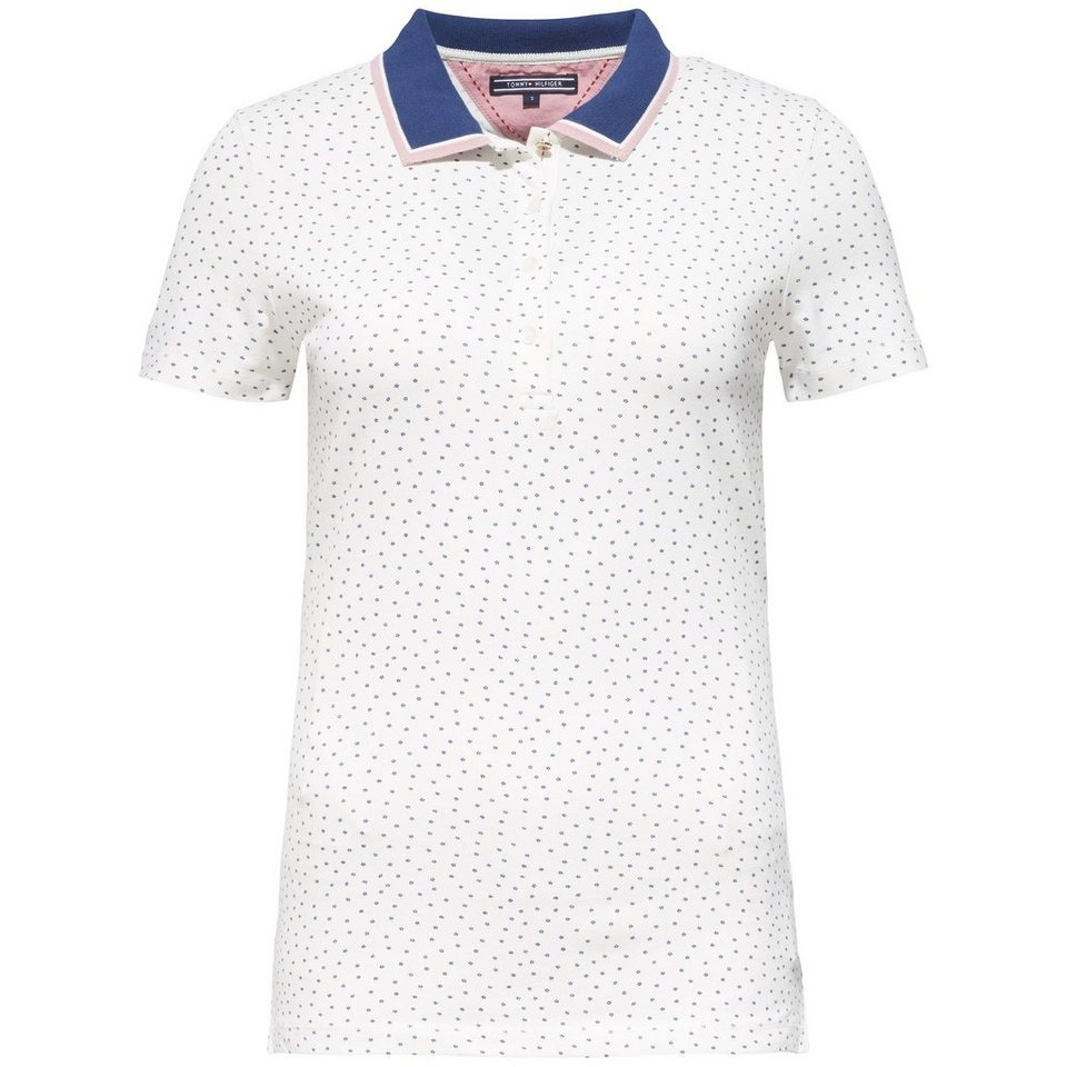 Tommy Hilfiger Poloshirt (mit Arm) »DEMI PRT POLO SS« in PENNY FLORAL