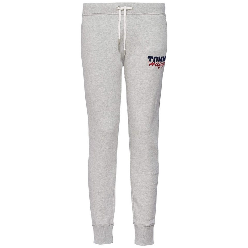 Tommy Hilfiger Hose lang »SAPPHIRE SWEATPANTS« in LIGHT GREY