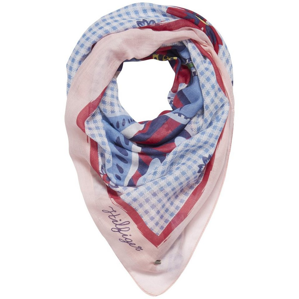 Tommy Hilfiger Schal »PERCY FLORAL SCARF« in PERCY FLORAL PRT