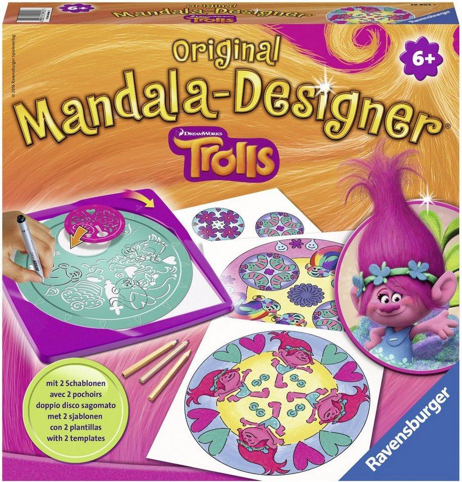 Ravensburger Malset, »Mandala Designer® Trolls«