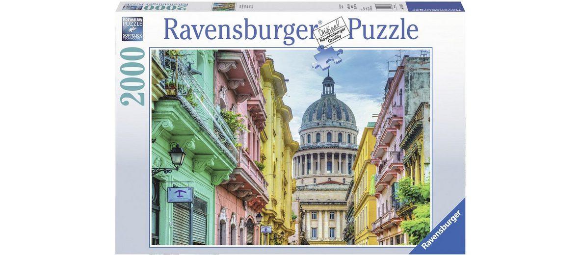 Ravensburger Puzzle mit 2000 Teilen, »Buntes Kuba«