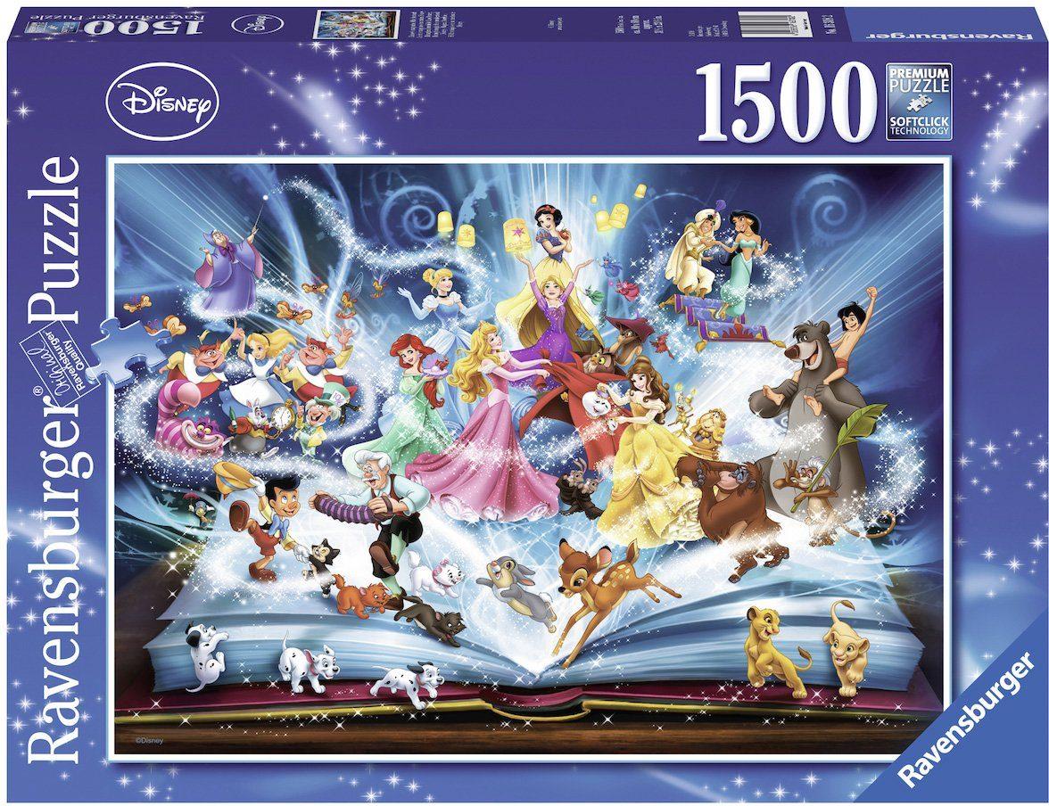 Ravensburger Puzzle mit 1500 Teilen, »Disney´s magisches Märchenbuch«