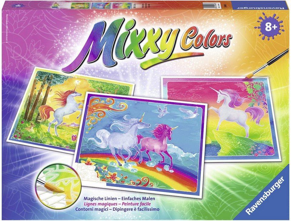 Ravensburger Malset, »Mixxy Colors Welt der Einhörner«