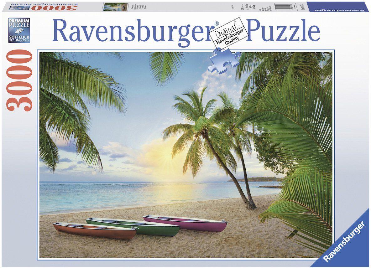 Ravensburger Puzzle mit 3000 Teilen, »Palmenparadies«