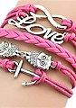 Firetti Armband »Infinity-Unendlichkeit Love Eule Anker«, Bild 2