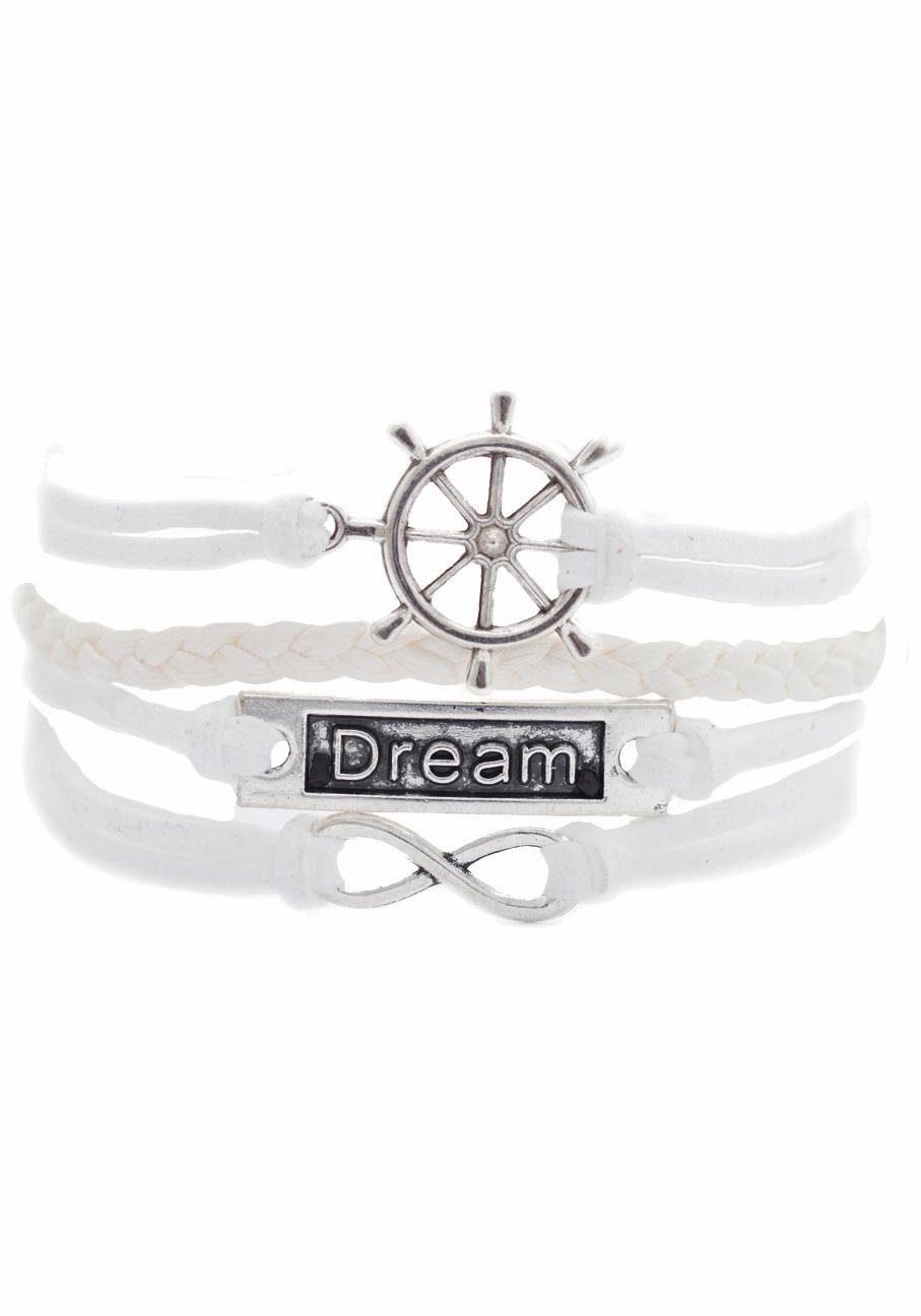 Firetti Armband »Steuerrad, Infinity-Unendlichkeit Dream«