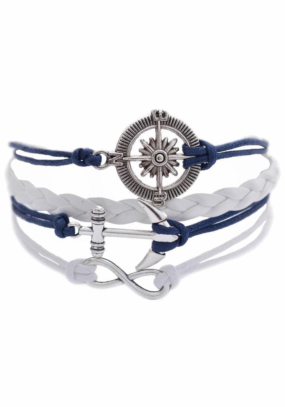 Firetti Armband »Steuerrad, Infinity-Unendlichkeit, Anker«