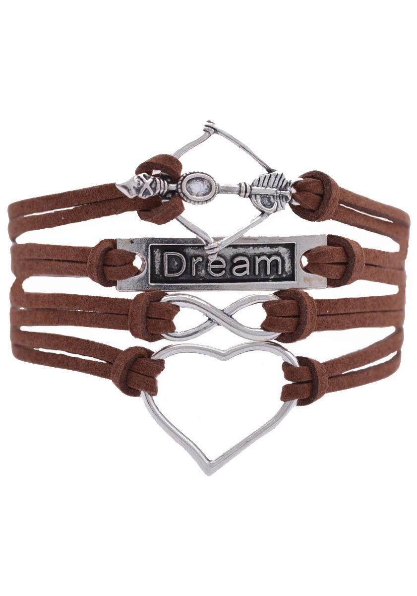 Firetti Armband »Herz Infinity-Unendlichkeit Dream Amors Pfeil & Bogen«