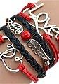 Firetti Armband »Love, Infinity-Undenlichkeit, Flügel, Herzen«, mit synthetischer Perle, Bild 2