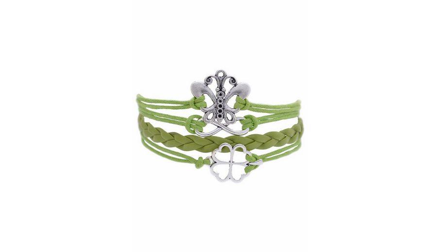 Firetti Armband »Schmetterling, Infinity-Undendlichkeit, Kleeblatt«