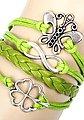 Firetti Armband »Schmetterling, Infinity-Undendlichkeit, Kleeblatt«, Bild 2