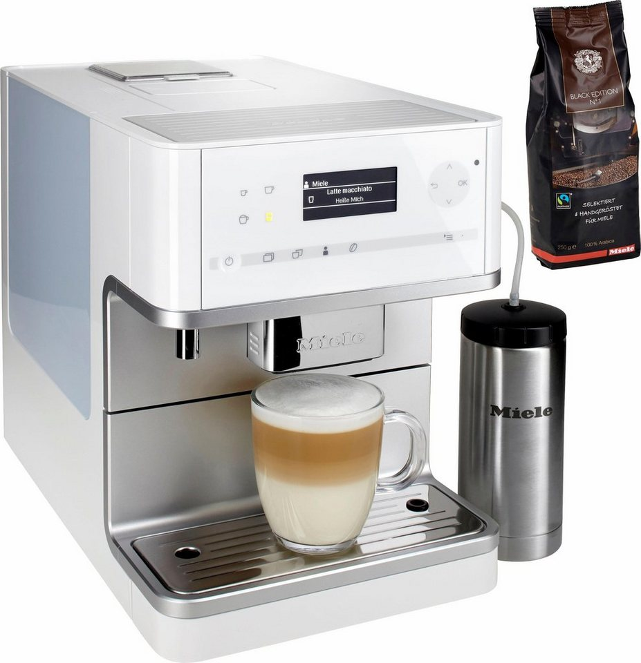 miele kaffeevollautomat cm 6350 mit isoliermilchbeh lter. Black Bedroom Furniture Sets. Home Design Ideas