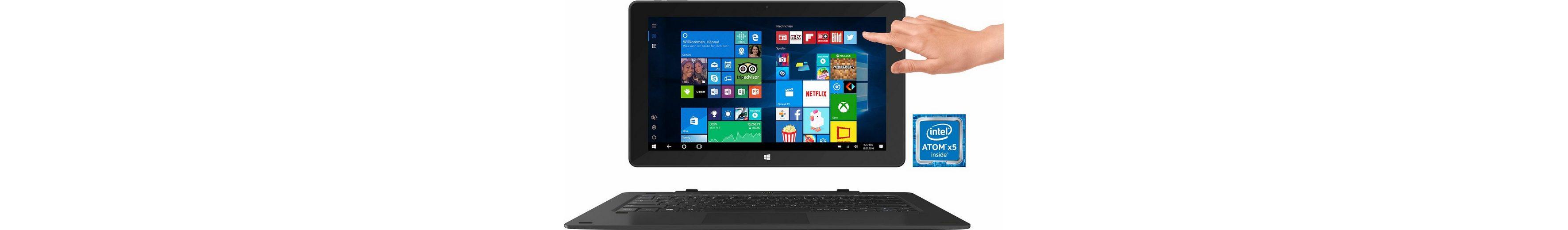 TrekStor SurfTab twin 11,6 LTE - Volks-Tablet Tablet-PC, Microsoft® Windows® 10 Home, Quad-Core