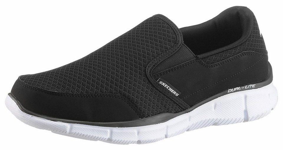 Skechers Sneaker mit Skechers Memory Foam in schwarz