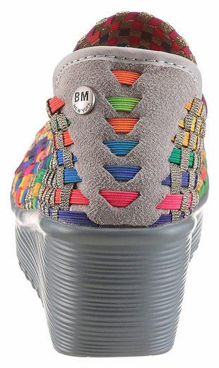 BERNIE MEV Lulia Spangenpumps, mit bi-elastischen Material
