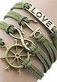 Firetti Armband »LOVE, Anker, Infinity-Unendlichkeit, Steuerrad«, Bild 3